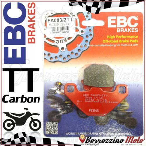 PASTIGLIE FRENO ANTERIORE CARBON EBC FA083//2TT PIAGGIO NRG POWER DT 50 2005-2011
