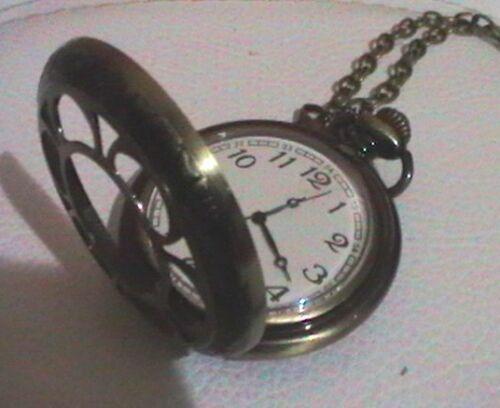 Vero Orologio a Cipolla Riproduzione del '700 intera GranCassa Metallo Ottonato
