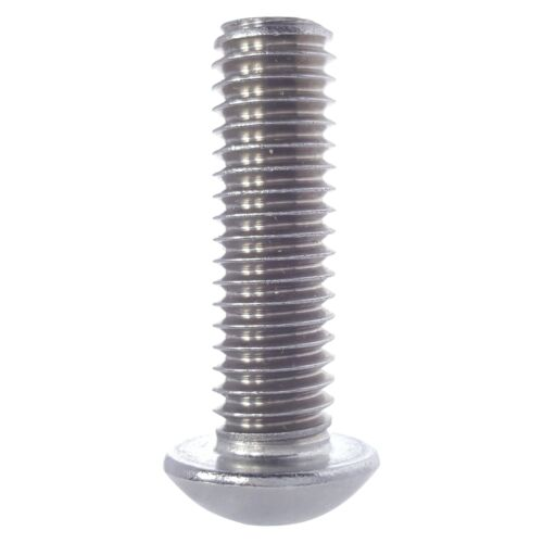 M4-0.70 x 6MM Button Head Socket Cap Screws ISO 7380 Stainless Steel Qty 1000