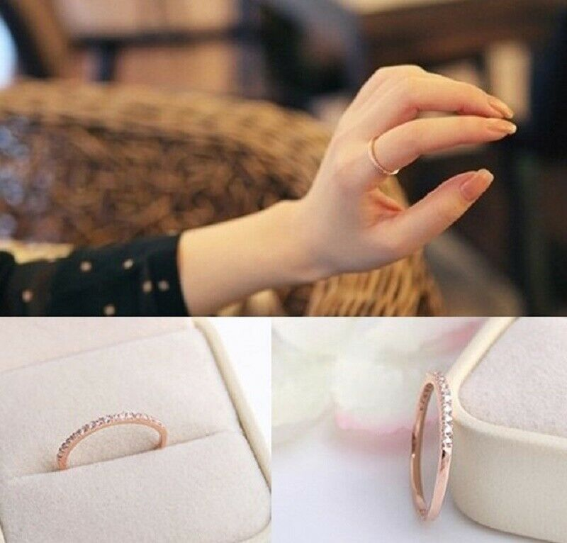 Men's Ring Engagement Fine Of Zircons With Gold Pink Laminated 18 Kt