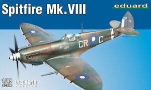Eduard-Weekend-Edition-1-48-Scale-Spitfire-Mk-VIII-Model-Kit-84159
