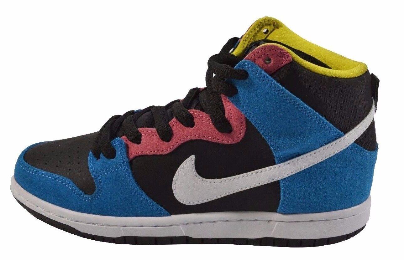 Nike canestro alto (sb eroe bianco nero blu 305050-410 (344), scarpe da uomo