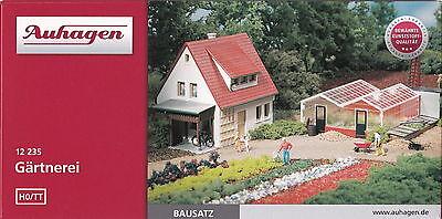 Auhagen 12235 Tracce Gg-kit-unifamiliare Con Giardinaggio E Vivai-s Mit Gärtnerei It-it Mostra Il Titolo Originale Eccellente Nell'Effetto Cuscino