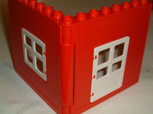 LEGO DUPLO Interlocking panneaux muraux avec ouverture de portes et de fenêtres