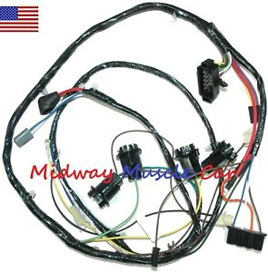 details about engine wiring harness 65 66 67 68 69 chevy chevrolet corvair 1986 chevy truck wiring diagram chevy wiring harrness di ing #2