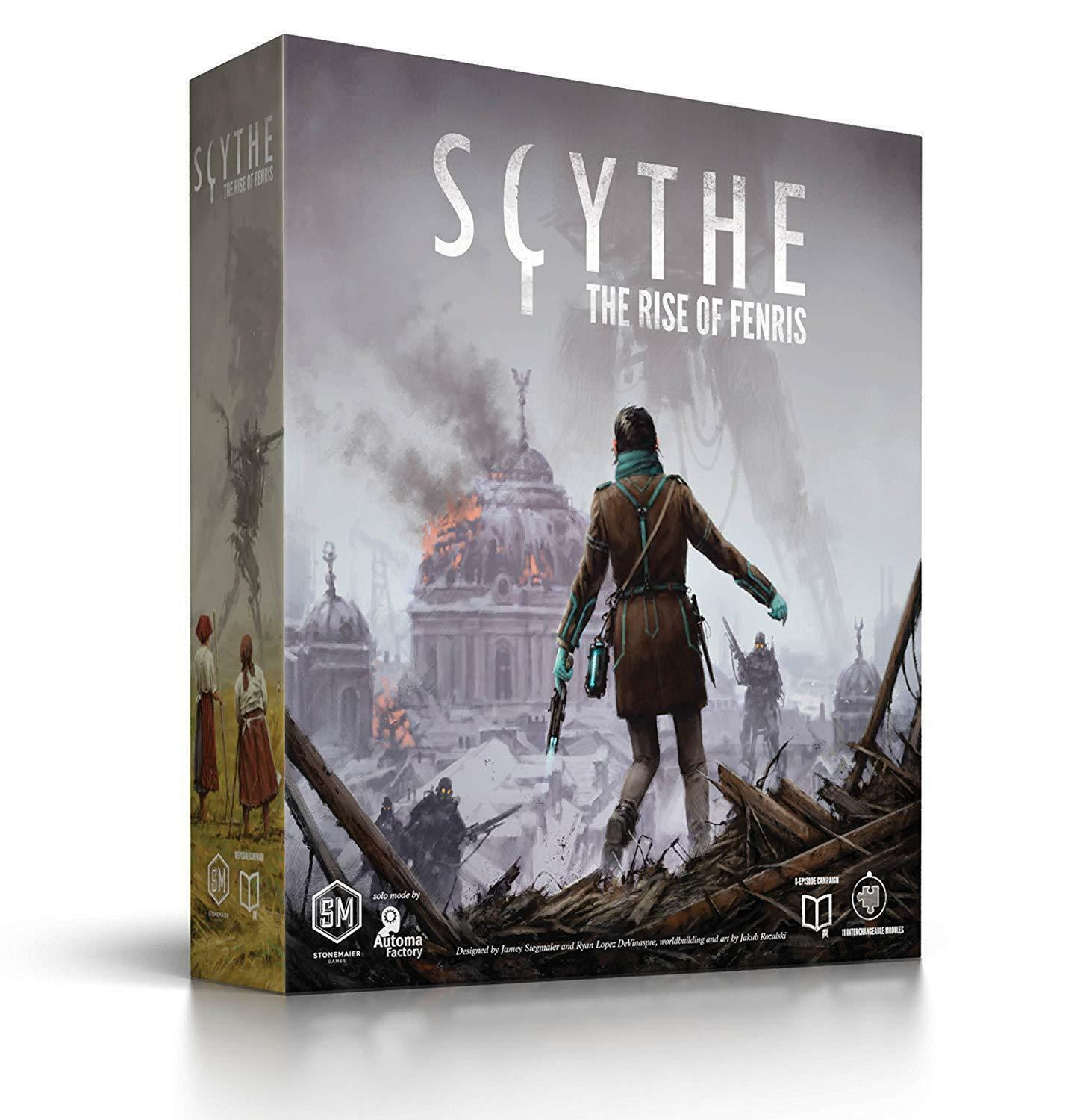 Scythe  The Rise of Fenris expansion expansion expansion Game - Stonemaier Games  - NEW SEALED 6b91d6
