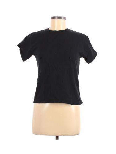 Collina Strada Women Black Short Sleeve T-Shirt S