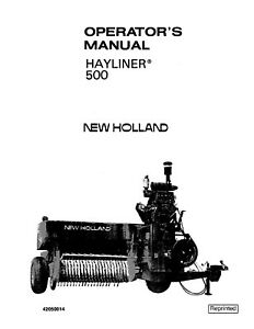 New-Holland-500-Baler-Operators-Manual