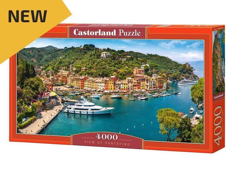CASTORLAND PUZZLE 4000 PIECES-Vue de Portofino - 54 x27  Boîte Scellée C-400201