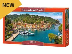 "Castorland Puzzle 4000 Pieces - View of Portofino - 54""x27"" Sealed box C-400201"
