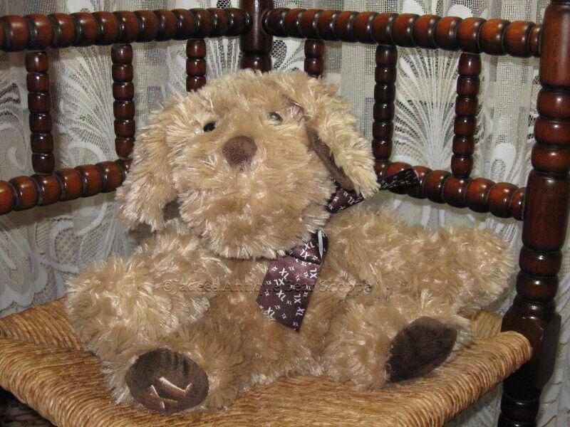 ICI Paris XL Netherlands Dog Plush w Bow