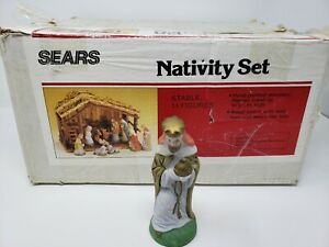 Vintage-Sears-Nativity-Scene-Replacement-Part-Wise-Man-Maji