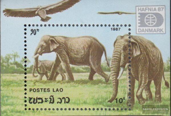 Laos 1220-1225 kompl.ausg. Postfrisch 1990 Vögel