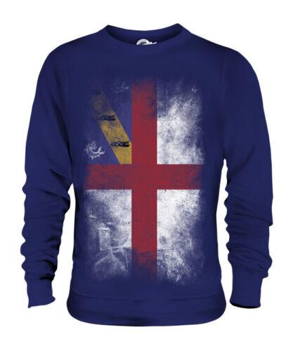 Bandiera Maglione Calcio Regalo Herm Jersey Sbiadito Abbigliamento Maglia Unisex S5xxtw7F