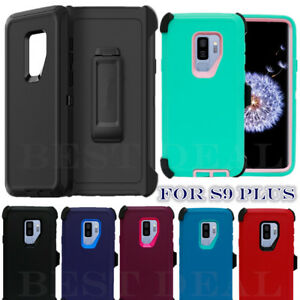 new style 35c20 8fd65 Details about For Samsung Galaxy S9 / S9 Plus Case Universal Clip Fit  Otterbox Defender Series