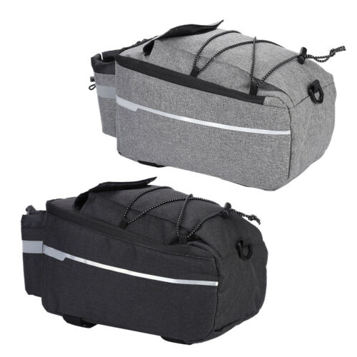 Outdoor Bicycle Rear Seat Tail Storage Bag Bike Rack Trunk Pouch Package