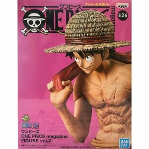 Bandai-Banpresto-ONE-PIECE-magazine-Figure-Vol-2-Monkey-D-Luffy-8-6-034-A-GG