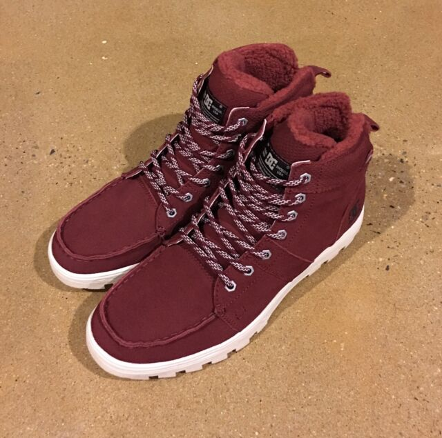 speical offer first rate top quality DC Shoes Mens Woodland Winter Weather BOOTS 13 Syrah US 13 / UK 12 / EU 47