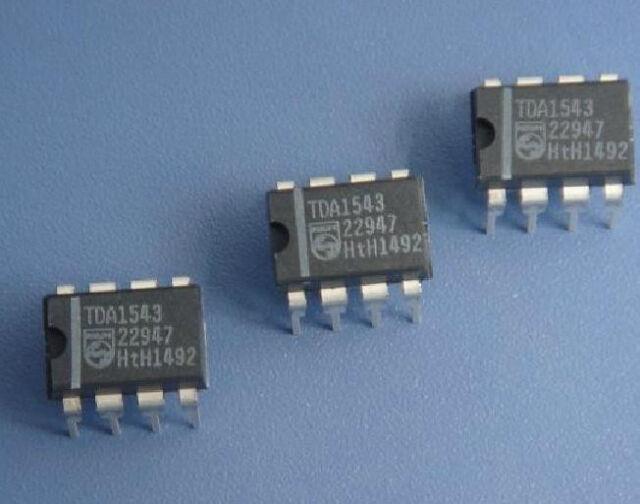 2pcs TDA1543A Dual 16-bit DAC Chip DIP-8 NEW GOOD QUALITY