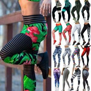 Womens-High-Waist-Yoga-Leggings-Fitness-Pants-Sports-Gym-Running-Workout-Stretch