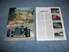 """Pete Chapouris 1926 Ford Highboy Roadster History Info Article """"Milestones"""""""