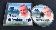 BBC CD DAVID ATTENBOROUGH IN HIS OWN WORDS *RARE*