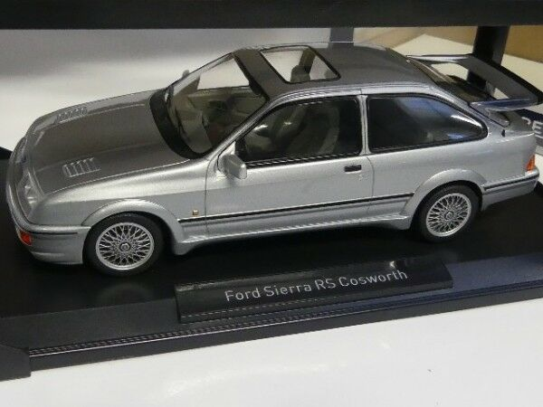 1 18 Norev Ford Sierra RS Cosworth 1986 grey metallic metallic metallic 182770 0f8c07