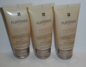 Renè Furterer Absolue keratins Repair Care Shampoo NEW 3 x 50ml