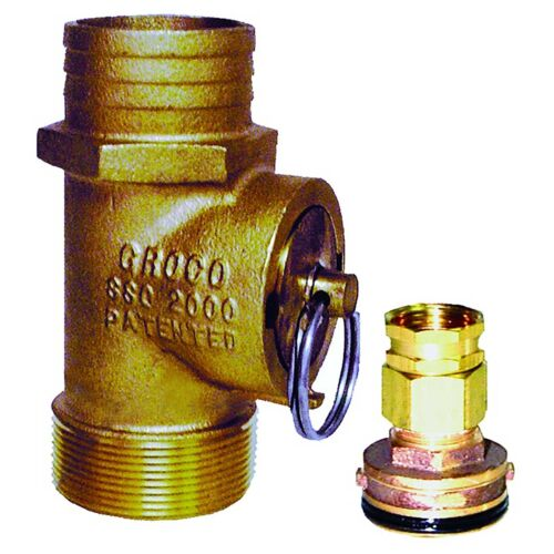 """1.5/"""" NPT Groco SSC-1500 Engine Flush Kit and Adapter"""