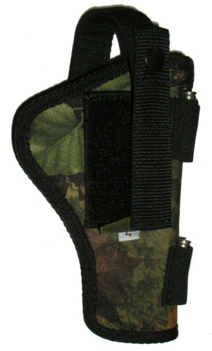 Taurus Tracker Cammo Holster USA Holds 5 Round 627SS 4 In 357 Revolver .357 .38