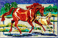 Legacy Horses Applique Brenda Yirsa Quilt Pattern