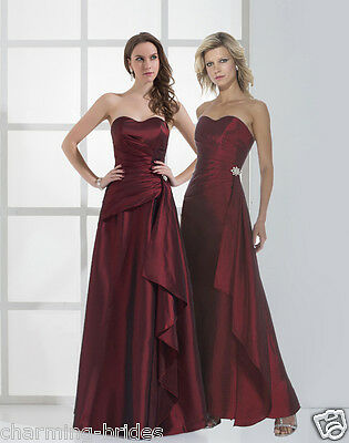 STOCK New Formal Long Evening Ball Gown Party Prom Bridesmaid Dress Size 6-16