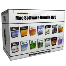 MAC OS X Multimedia Web 3D Graphics Animation Design Software Program Collection