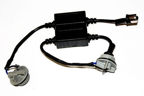 2x Lastwiderstand Widerstände Sockel Fassung Ba15s 1156 P21W Adapter LED 50 Watt