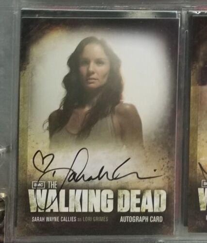 Autograph Cards Cryptozoic Walking Dead Season 2