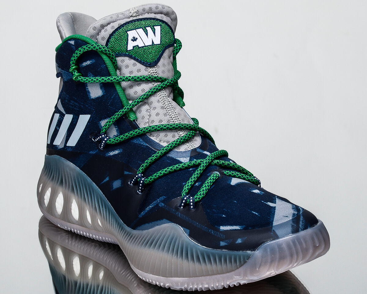 Adidas Baloncesto Crazy Explosive AW hombres Baloncesto Adidas Calzado Tenis Nuevo Azul Verde BB8345 16bf92