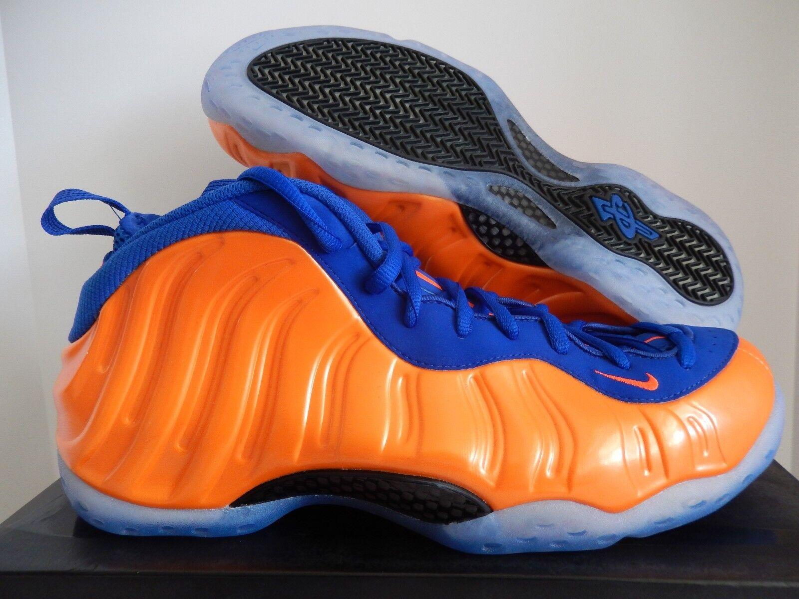 Nike Air Foamposite One 3201896801 total Crimson NaranjaAzul Knicks [ 3201896801 One ] 7f07b6