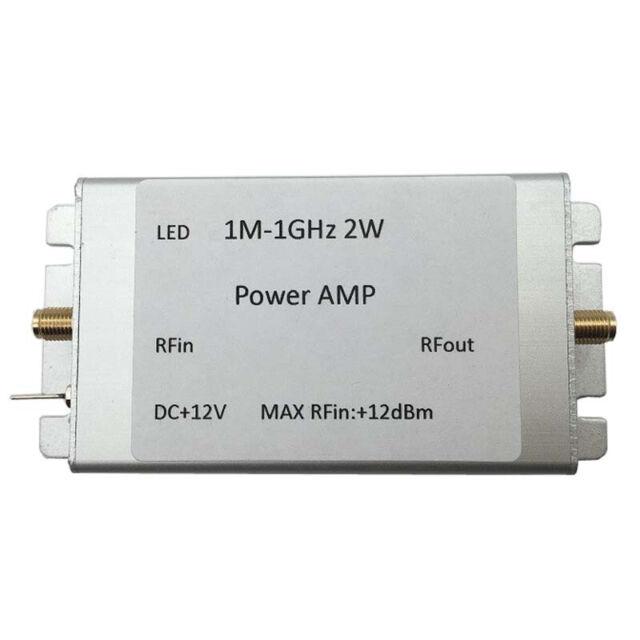 1M-1000MHz 3.5W Amplifier HF FM VHF UHF FM Transmitter Broadband RF Amplifier