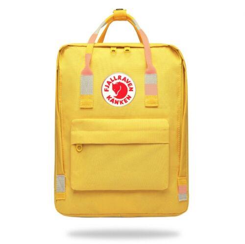Unisex Womens Backpack Fjallraven Kanken Travel Shoulder School Bags 7L//16L//20L