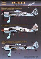 "Hungarian Aero Decals 1/48 FOCKE WULF Fw-190F-8 ""POTTOM"" Fighter"