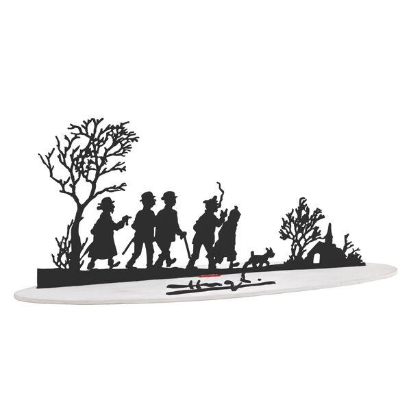 TINTIN MOULINSART HERGE 46230 Sculpture Meilleurs Voeux Pixi