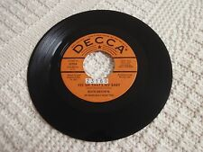 RUTH BROWN YES SIR THAT'S MY BABY/WHAT HAPPENED TO YOU DECCA 31598 PROMO