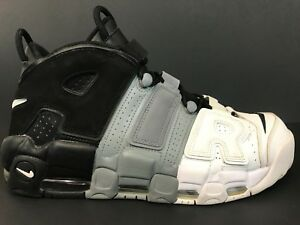 310350afb9c Details about Nike Air More Uptempo '96 Tri Color Sz 11 Men's  Black/Grey/White 921948-002