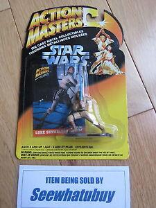 1994 Kenner Action Masters LUKE SKYWALKER Die Cast STAR WARS Action Figure - Exeter, United Kingdom - 1994 Kenner Action Masters LUKE SKYWALKER Die Cast STAR WARS Action Figure - Exeter, United Kingdom