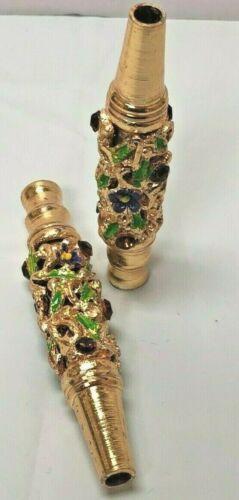 Inlaid Jewelry Zinc Alloy Hookah Mouth Tips Shisha Filter  Hookah Mouthpiece