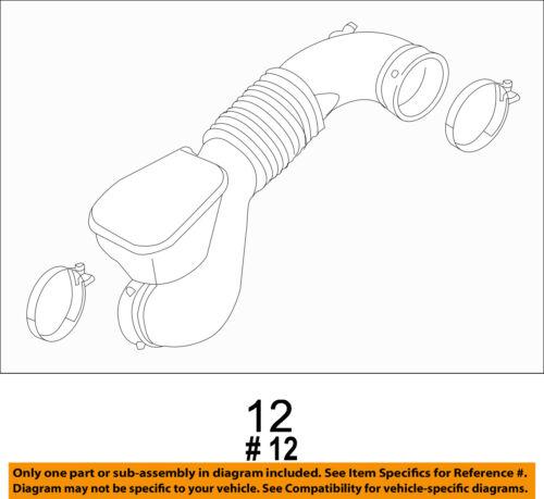 KIA OEM 12-15 Optima Air Cleaner Intake-Tube Duct Hose 281303Q160