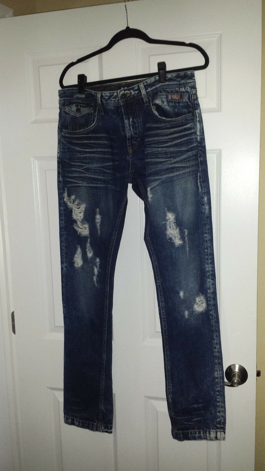 D&G Men's Distressed Denim Jeans