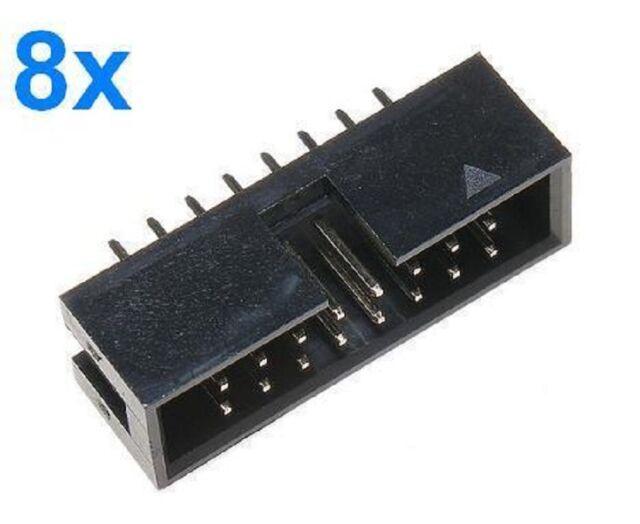 8pz Conettori IDC16 maschio diritto IDC 16 pin