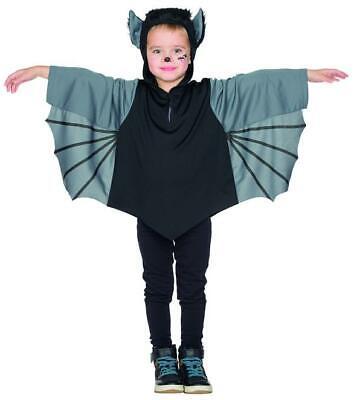 Accurato Pipistrello Tunica Parte Superiore Costume Bambini Unisex Carnevale Halloween Da Avere Una Lunga Posizione Storica