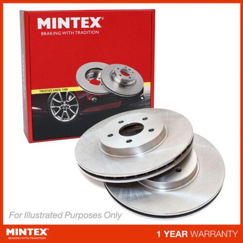 New Audi TT 8J 2.0 TDI quattro Genuine Mintex Front Brake Discs Pair x2